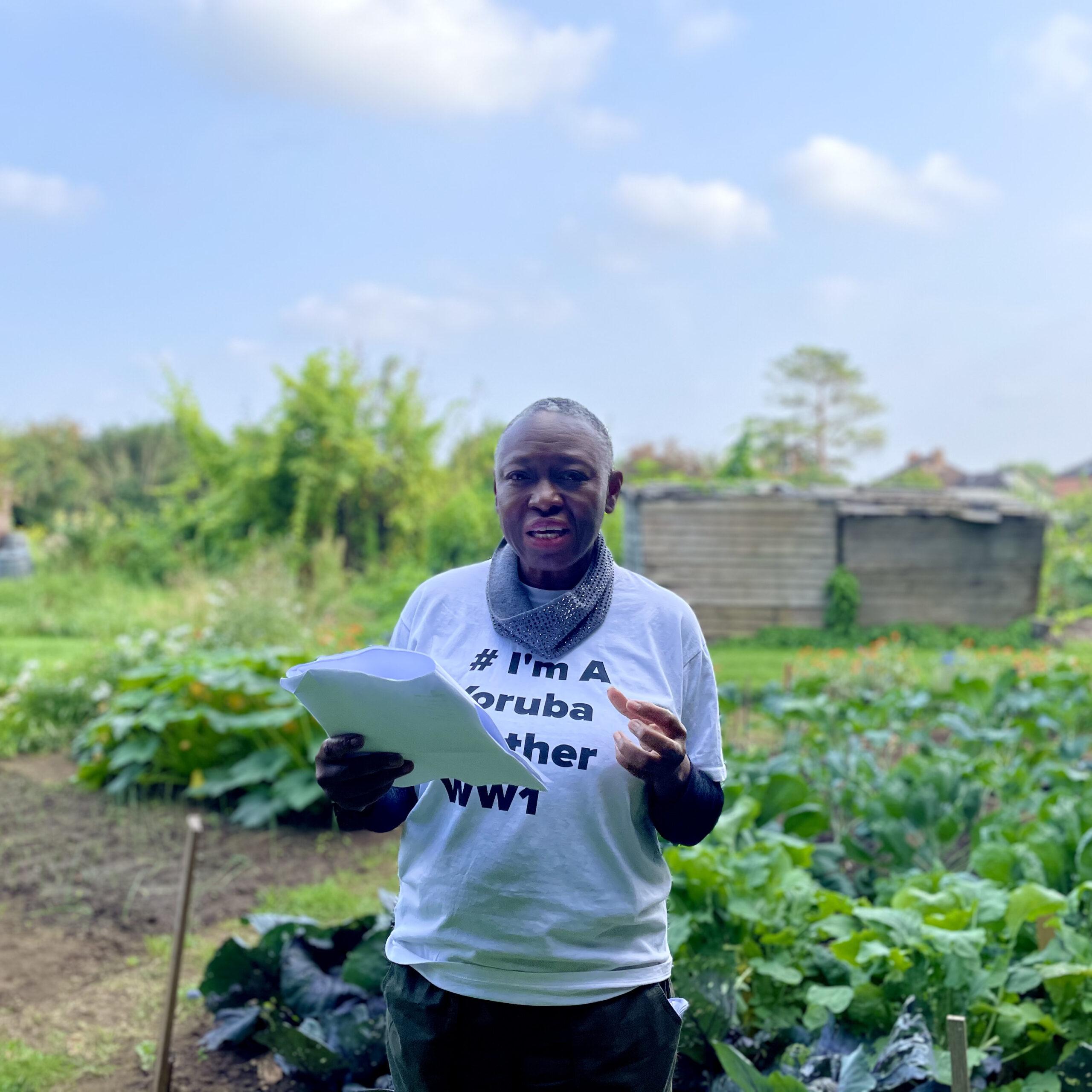 Dr. Yewande Okuleye reading