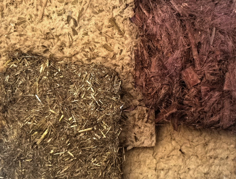Papers made from sedge, grass, reed and willow bark.